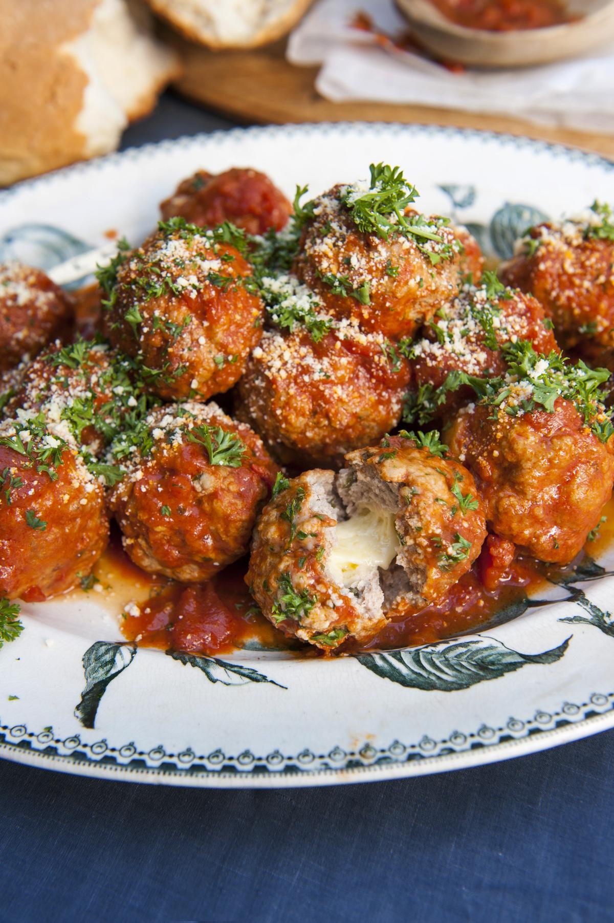 Bocconcini Meatballs