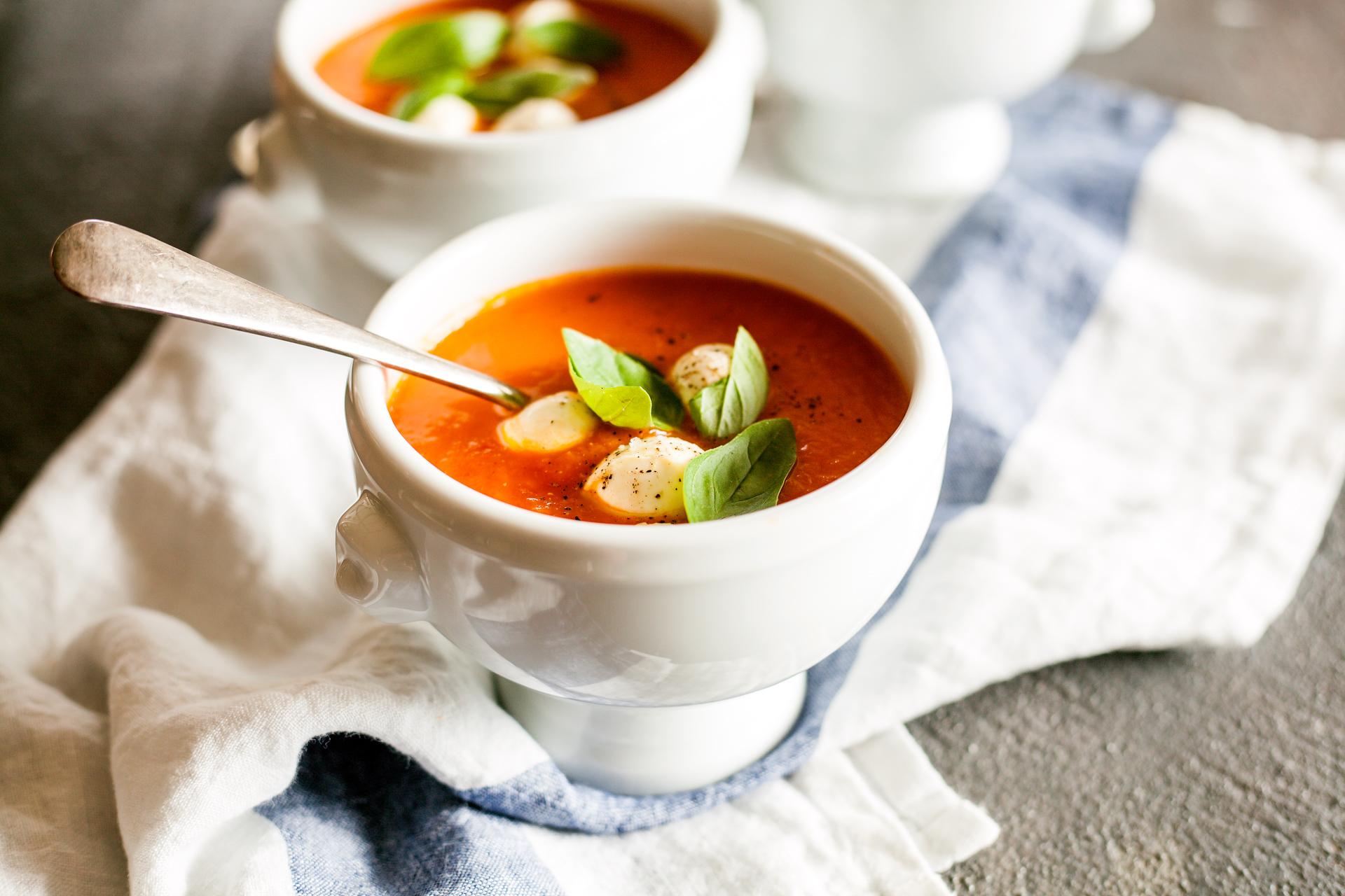 Bocconcini Soup