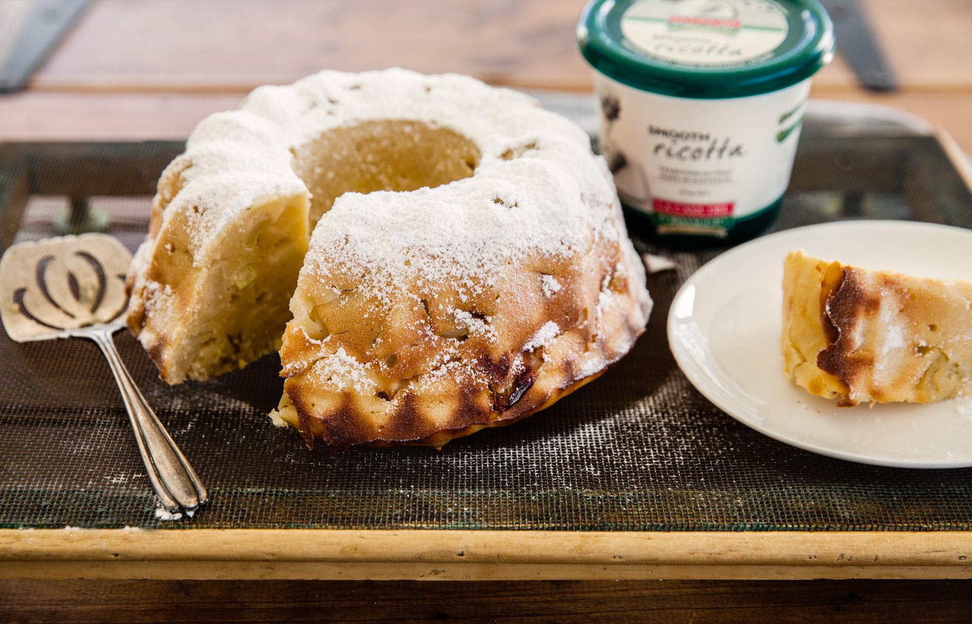 Ricotta Apple Cake